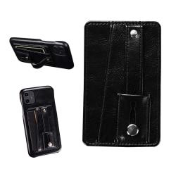 Självhäftande Korthållare för Mobiltelefon Svart svart