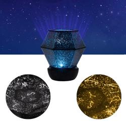 Stjärnprojektor med Stjärntecken Stjärnlampa - Star Projector flerfärgad