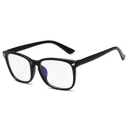 Svarta Datorglasögon med Blåljusfilter utan Styrka svart