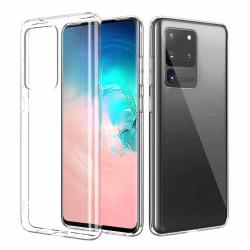 Tunt Genomskinligt Mobilskal Galaxy S20 Ultra Transparent transparent