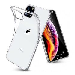 Tunt Genomskinligt Mobilskal iPhone 11 Pro Max Transparent transparent