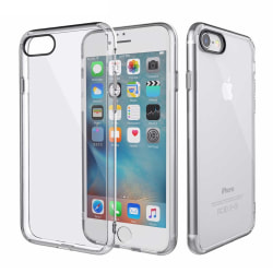 Tunt Genomskinligt Mobilskal iPhone 8 Plus Transparent transparent