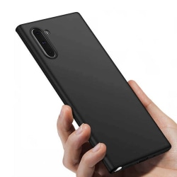 Tunt Svart Galaxy Note 10 Skal Mobilskal 1mm TPU svart