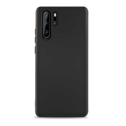 Tunt Svart Huawei P30 Pro Skal Mobilskal 1mm TPU svart