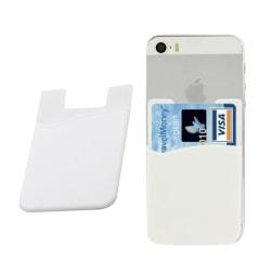 Universal Korthållare för Mobiltelefon Vit (Självhäftande) vit