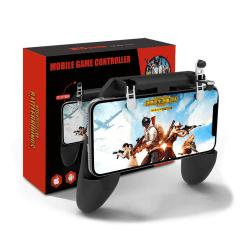 Universal Smartphone Spelkontroll Gamepad Grip Mobil PUBG svart