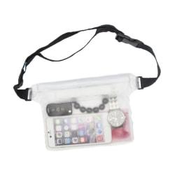 Vattentät Fodral Väska för Mobiltelefon Universal Mobilväska transparent