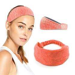 Yoga Pannband Hårband för Sport Träning Orange orange