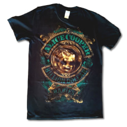 Alice Cooper - T-Shirt - Billion Dollar Baby Crest Black S