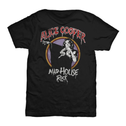 Alice Cooper - T-shirt - Mad House Rock Black XL