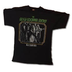 Alice Cooper - T-shirt - US Tour 1971 Black M