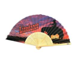 10st Solfjädrar - Linedance i bambu
