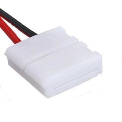 1st LED-anslutning för 2-polig LED-slinga 12mm RGB