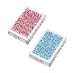 2 Öbergs Riktiga Spelkort. 1 röd, 1 blå Kortlek Poker Patiens