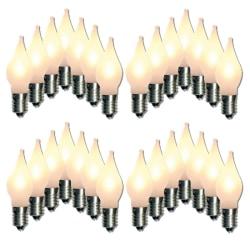 28-pack LED-lampor till Adventsljusstake Elsnåla E10 Uni 10-55V