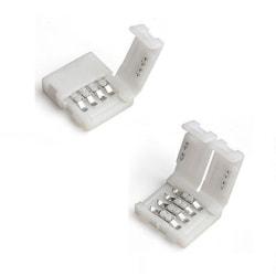 2st LED-skarv för 4-polig flat LED-slinga 10mm RGB
