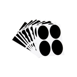 36 svarta tavlan-etiketter i 3 modeller, griffeltavla, Blackboar
