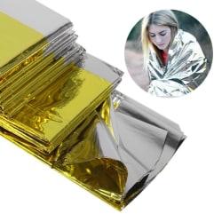 3st Nödfilt Överlevnadsfilt Räddningsfilt Värmefilt Signalfi Guld