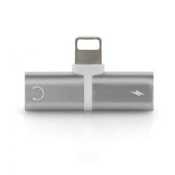 Adapter lightning för att ladda och lyssna samtidigt