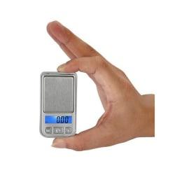 Digital Mini Pocketvåg Köksvåg 0.01-200g för smycken kryddor