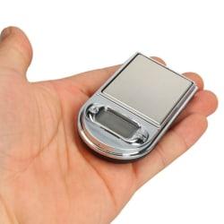 Digital Mini Pocketvåg ZIP Köksvåg 0.01-200g för smycken kry