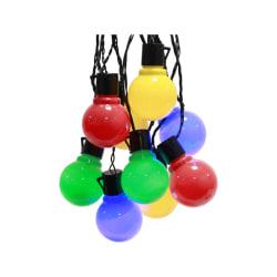 Kräftbelysning Partyljus med 16 LED-ljuskällor i fina färger