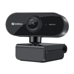Webbkamera Sandberg Flex för online-studie-möten mm 1080p