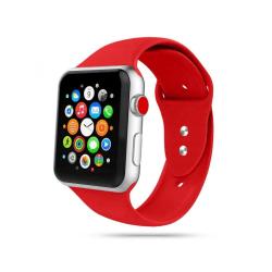 Armband • Apple Watch 1/2/3/4/5/6/SE (42/44MM) • Icon • Röd...