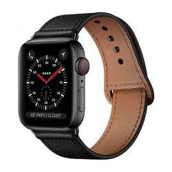 Armband • Apple Watch 1/2/3/4/5/6/SE (42/44MM) • Leatherfit •...