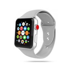 Armband • Apple Watch 1/2/3/4/5/6/SE (42/44MM) • Icon • Grå...