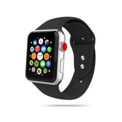 Armband • Apple Watch 1/2/3/4/5/6/SE (42/44MM) • Icon • Svart...