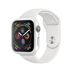 Skal • Apple Watch 4/5/6/SE (44MM) • Spigen Thin Fit • Vit