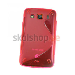 Galaxy Xcover gelcase rosa