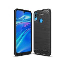 Huawei Y7 2019 / Y7 Prime 2019 Mobilskal - Kolfiber design - ...