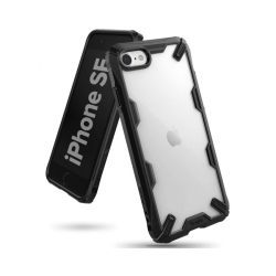 iPhone 7 / 8 / SE (2020) • Mobilskal • Ringke Fusion X • Svar...