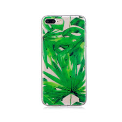 iPhone 7 Plus / 8 Plus Mobilskal - Green leaf