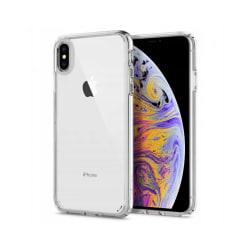 iPhone X / Xs Mobilskal - Spigen Ultra Hybrid - Crystal Clear