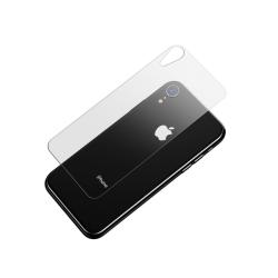 iPhone Xr glasskydd för baksidan - Härdat glas - Heltäckande...