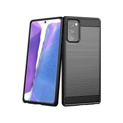 Samsung Galaxy Note 20 • Mobilskal • Kolfiber design • Svart...