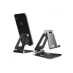 Stativ för mobiltelefon • Aluminium • Svart