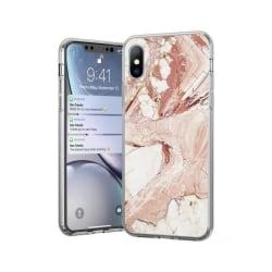 Xiaomi Redmi 8A Mobilskal - Marble Case - Rosa