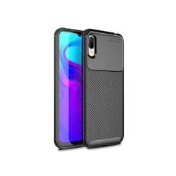 Y6 Pro (2019) Mobilskal - Kolfiber design - Svart