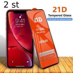 2 st 21D skärmskydd för iPhone 12