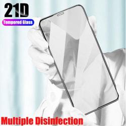 2 st 21D Heltäckande härdat glas för iPhone 12 pro max