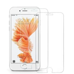2st iPhone 6/6S/7/8/SE Härdat Glas 9H HD transparent