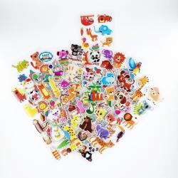 3D Tjocka Mjuka Klistermärken för barn