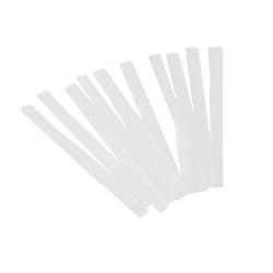 40st Skyddsnät till sminkborstar l Ta hand om dina sminkborstar vit 8 cm