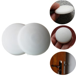 5st Dörrskydd skydda din vägg mot dörruppslag vit  3 * 3 * 1 cm