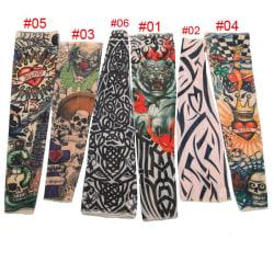 8st Tatuering Sleeve Arm 42cmx12 cmx7cm