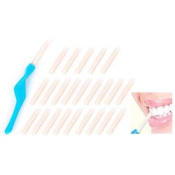 Få vita tänder - tandpolering - polera dina tänder turkos  6.6cm